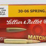 Патрон Sellier&Bellot 30-06 HPBT 10,9 g
