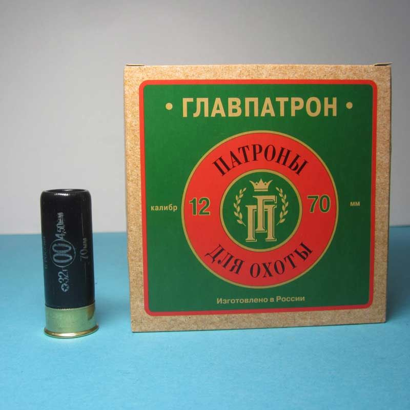 Патрон Главпатрон 12/70 дробь 32 г