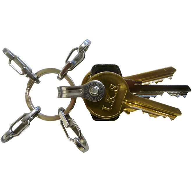 Брелок-кольцо True Utility KeyRing System TU245