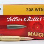 Патрон Sellier&Bellot 308Win HPBT 11,7 g