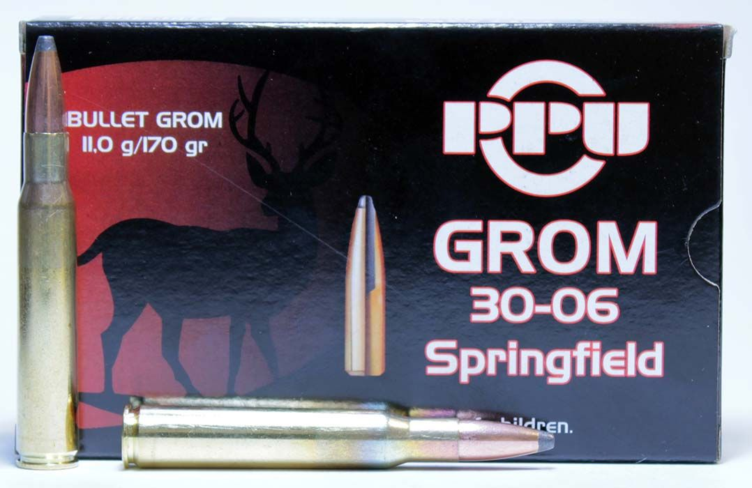 Патрон PPU .30-06Sprg 11,0 г GROM (A-323)