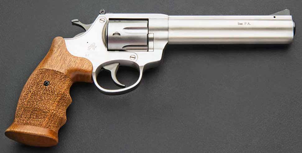 Револьвер ООП Гроза РС-06 кал. 9 мм РА нерж. ст.
