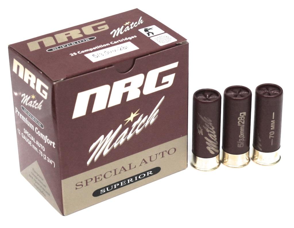 Патроны NRG Match для практической стрельбы по оптовым ценам