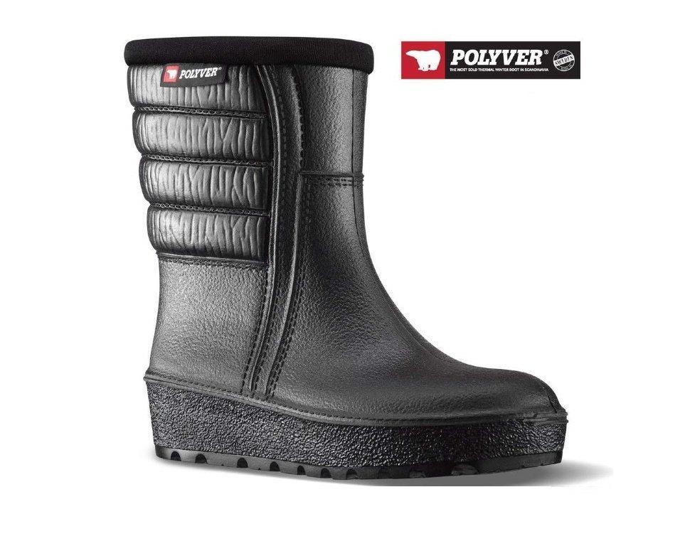 Сапоги Polyver Winter Low черный (12BA)