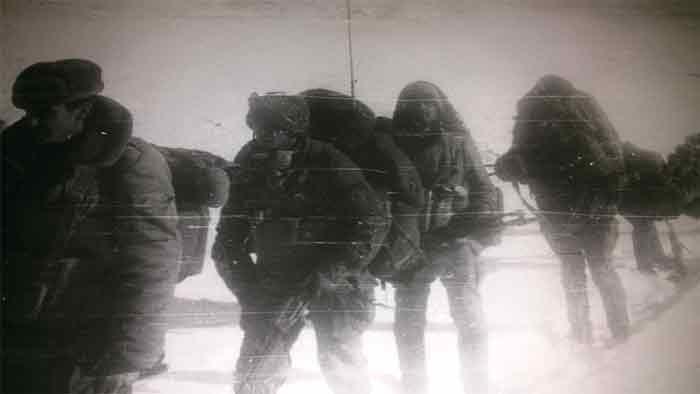 Саланг-1987 г - суровые горы Гиндукуша