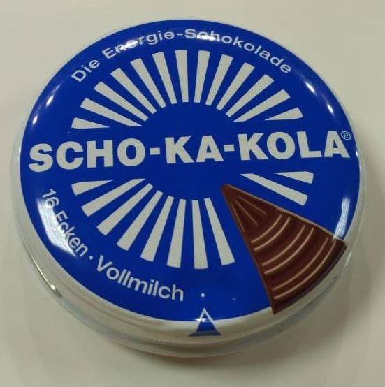 Шоколад энергетический Scho-Ka-Kola молочный 100 г