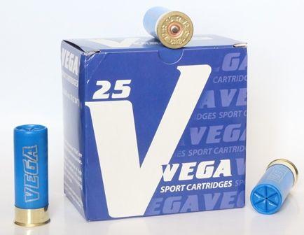 Патроны Vega дробь 7,5 с навеской 26 г – по 13,5 рублей!