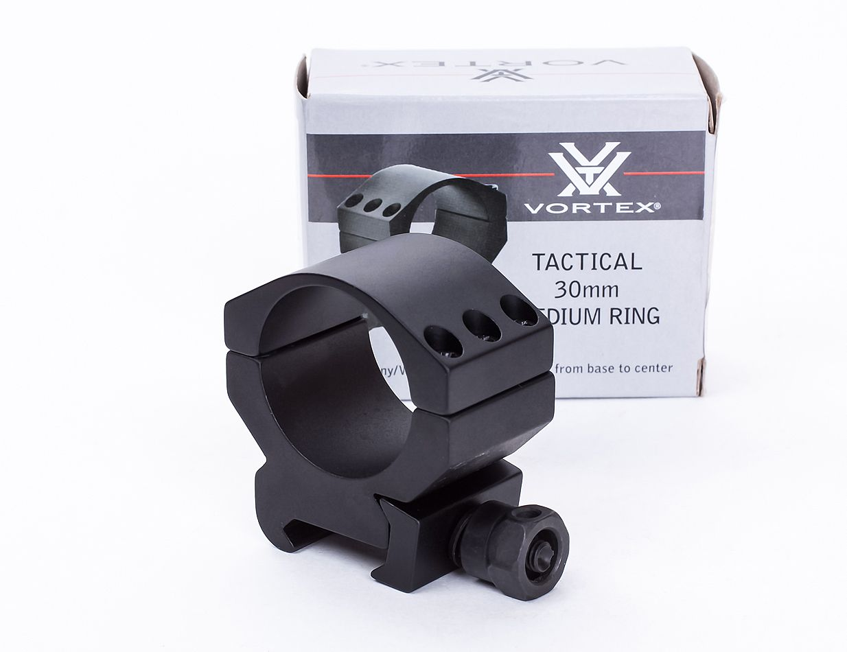 Кольца Vortex Tactical 30 мм средние матовые (TRM)