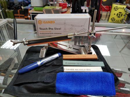 Приспособления для заточки ножей GANZO и машинки WORK SHARP