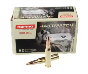Патрон Norma 308Win Jaktmatch FMJ 9,7 г (17622)