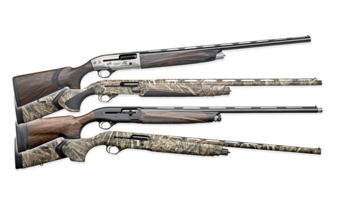 Beretta A400 Upland, A400 Xtreme Plus, A400 Lite Max 5 e A400 Xcel Sporting Black Edition