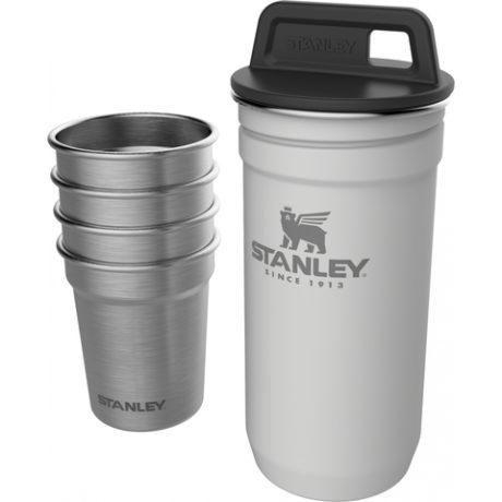 Набор Stanley Adventure Gift Set (фляга 0,236 л + стопки 0,59 мл) белый (10-01883-036)