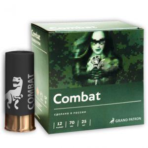 Патрон Главпатрон Combat 12/70 дробь №3